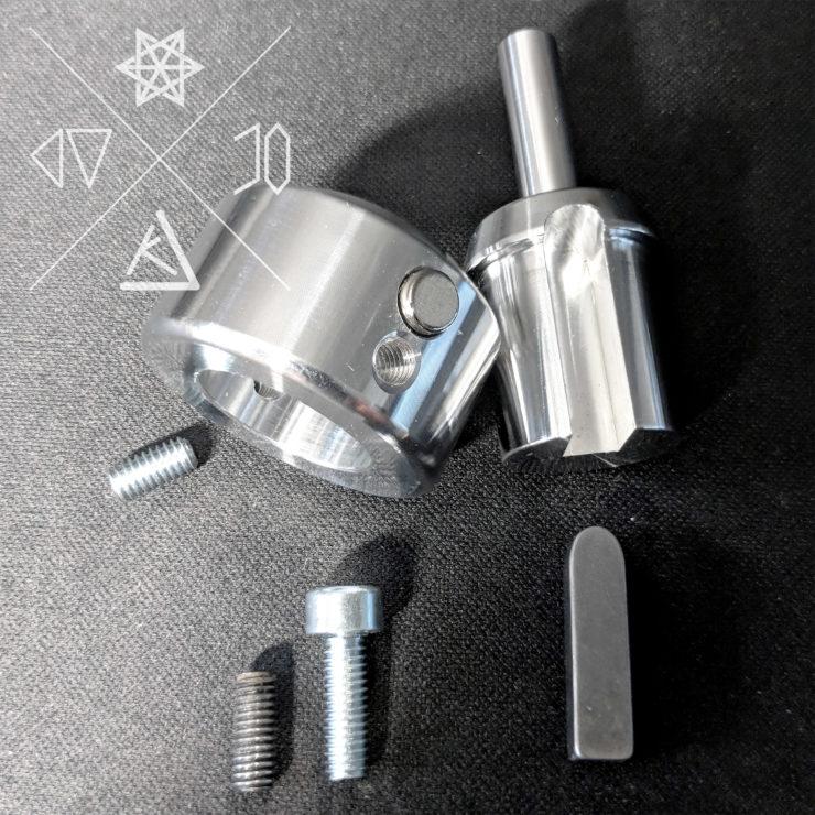 CC Magnet Wire Clamp komplett zerlegt