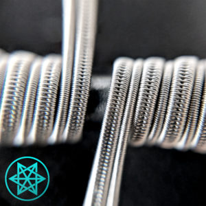 Clapton Staged SFC (Aro Coil) Macro Shot